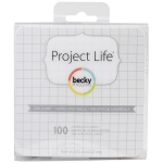 PROJECT LIFE - CARDSTOCK 380284 - GRID CARDS 4X4