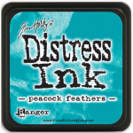 DISTRESS DYE INKS PAD - Peacock Feathers