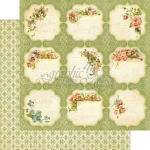 GRAPHIC 45 - SECRET GARDEN 4500656 -  12x12