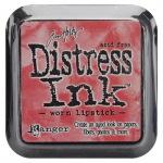 DISTRESS DYE INKS PAD - Worn Lipstick
