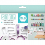 WE R MEMORY KEEPERS - SNAP STORAGE CLIPS - RIBBON MEDIUM