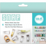 WE R MEMORY KEEPERS - SNAP STORAGE CLIPS - WASHI TAPE MEDIUM
