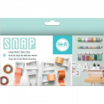 WE R MEMORY KEEPERS - SNAP STORAGE CLIPS - WASHI TAPE LARGE