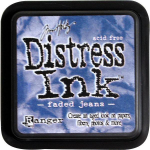 DISTRESS DYE INKS PAD - Faded Jeans
