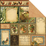 GRAPHIC 45 - FRENCH COUNTRY 4500632 - BON APPETIT 12x12