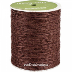 MAY ARTS - BURLAP STRING JUTE SM33 - 1 MM - BROWN pr.m