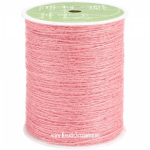 MAY ARTS - BURLAP STRING JUTE SM17 - 1 MM - PINK pr.m