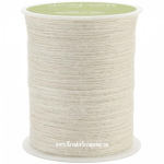 MAY ARTS - BURLAP STRING JUTE SM09 - 1 MM - IVORY pr.m