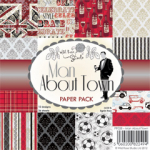 WILD ROSE STUDIO PAPER - 6x6 - PP028 - MAN ABOUT TOWN