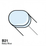 COPIC - SKETCH MARKER - B21 - BABY BLUE