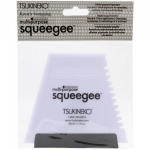 TSUKINEKO: MULTI-PURPOSE SQUEEGEE SQPKG002 - 3-SIDED