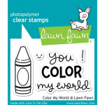 LAWN FAWN - CLEAR STAMPS LF793 - COLOR MY WORLD - 3x2