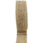 RIBBON JUTE - NATURAL - 2 INCH
