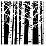 THE CRAFTERS WORKSHOP - TCW6X6-252 - ASPEN TREES