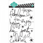 HEIDI SWAPP - STICKERS 977 - EPOXY WORDS - CELEBRATE
