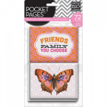 ME & MY BIG IDEAS - POCKET PAGES CARDS - TPC07 - FRIENDS