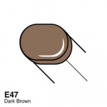 COPIC - SKETCH MARKER E47 - DARK BROWN