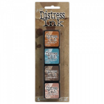 TIM HOLTZ - DISTRESS DYE INKS SET TDPK40361 - KIT 6