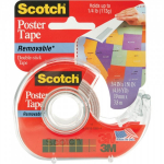 3M - SCOTCH POSTER TAPE REMOVABLE - 19MM X 3,8M