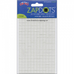 ZAPDOTS 3D - ADHESIVE DOTS 1578 - CLEAR SQUARES - 6.35mm