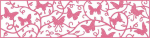 CHEERY LYNN DESIGNS - B401 - BUTTERFLIES AMONG THE VINES MESH BO