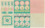 AUTHENTIQUE - CARDSTOCK STICKERS SEA020 - SPRING
