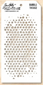 TIM HOLTZ - LAYERED STENCIL THS002 - BUBBLES