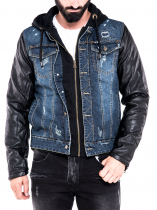 Avellino Denim Leather
