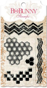 Geometric patterns stamp