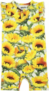 Bilde av Baby jente heldress Faris i sunflower fields fra Molo