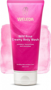 Bilde av WELEDA WILD ROSE CREAMY BODY WASH 200ML