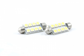 C5W LED 41mm Hvit