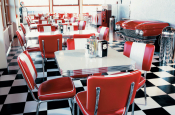 Bel Air Diner bord