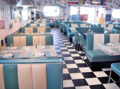 Bel Air Diner booths