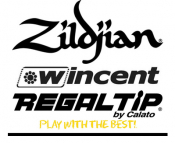Zildjian/Regal Tip/Wincent