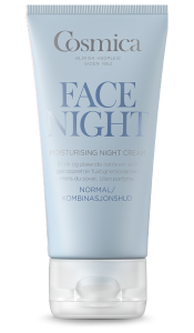 Bilde av COSMICA FACE MOISTURISING NIGHT CREAM 50ML