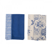 Teatowels China Blue
