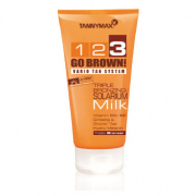 123 Go Brown! - Triple Bronzing Solarium Milk