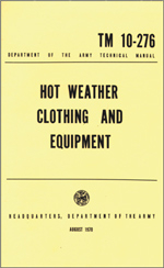 Bilde av Hot Weather Clothing and Equipment