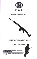 Bilde av FN-FAL-Users Manual-Light-Automatic-Rifle- Cal 7.62mm