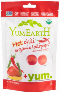 Bilde av Organic Hot Chili Pops -