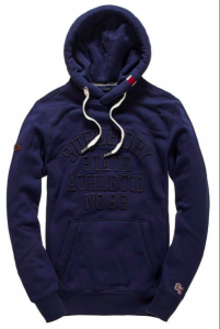 Bilde av Superdry, Core applique hood,