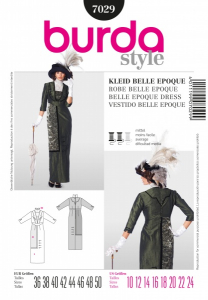 Bilde av 7029 Belle Epoque Burda Sort