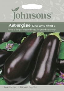 Bilde av Aubergine 'Early Long Purple 2'