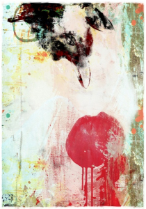 Bilde av THE CHERRY KISS (50x70cm)