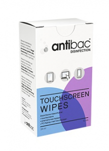 Bilde av ANTIBAC TOUCHSCREEN WIPES 12 STK