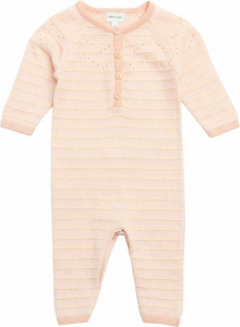 Bilde av Baby jente heldress Thea pale dogwood rose fra Mini A Ture