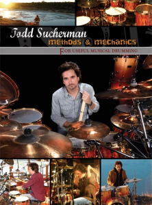 Bilde av Todd Sucherman - Methods & Mechanics DVD