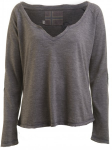 Bilde av Barfota, Patch sweater dark