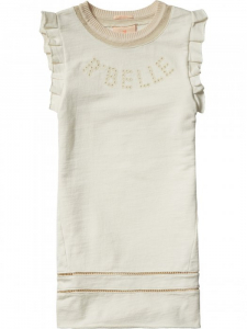 Bilde av Sweat dress with lace & ruffle fra Scotch R'belle